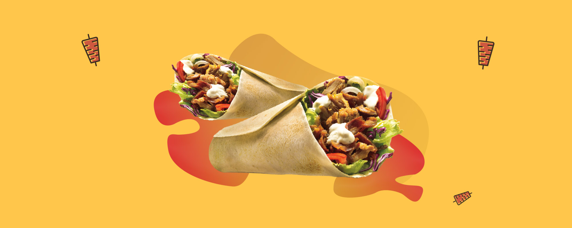 Kebab banner